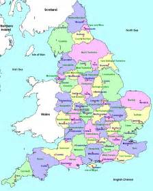 England Map january 2013 map of england cities