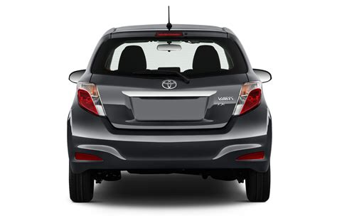 Rear View All New Yaris 2014 2014 toyota yaris reviews and rating motor trend