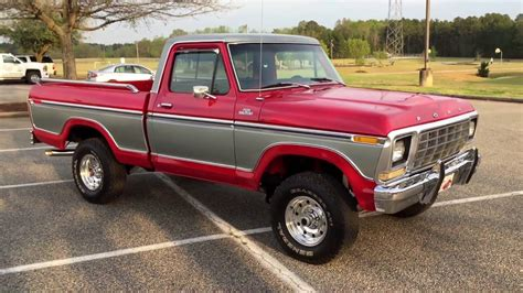 ford 4x4 for sale 1979 ford f 150 ranger 4x4 for sale youtube