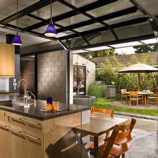 garage door window kitchen ideas  houzz