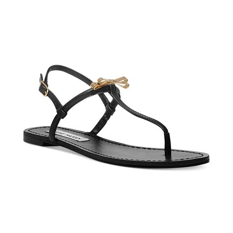 Studio Nine Flat Sandal Shoes steve madden womens daisey flat sandals in black lyst