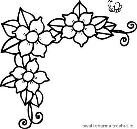 coloring pages of jasmine flower jasmine flower coloring pages freecoloring4u com