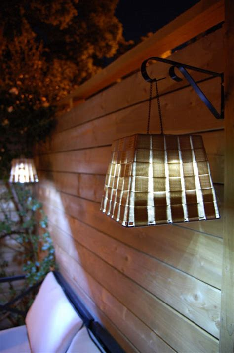 hanging patio lights 25 backyard lighting ideas illuminate outdoor area to make