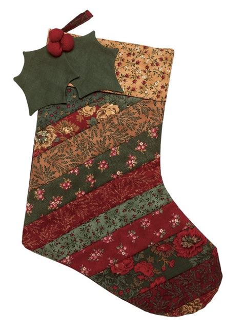free quilting pattern for christmas stockings free strip stocking pattern at quilt in a day free