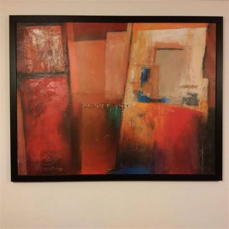 Framed Abstract Wall