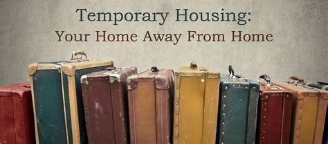 temporary housing your home away from home lawdepot