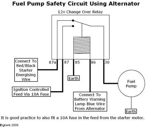 vw electric fuel wiring diagram vw flasher relay