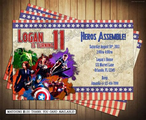 Diy Marvel Avengers  Ee  Birthday Ee   Party By Novel Eptdesigns
