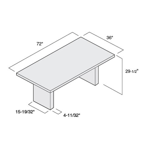 conference table dimensions conference table size