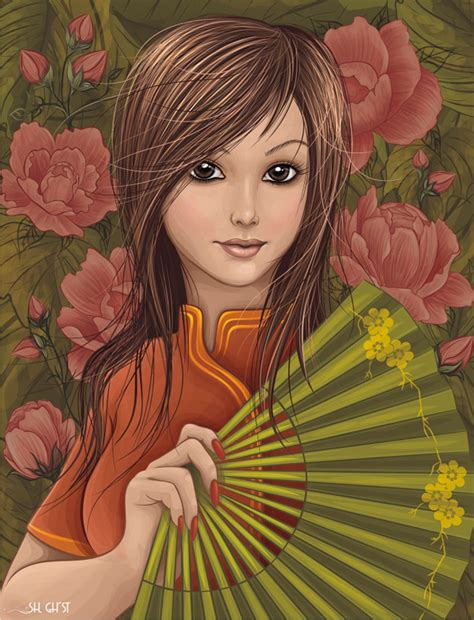tutorial vektor art corel draw how to create a vector girl using adobe illustrator or