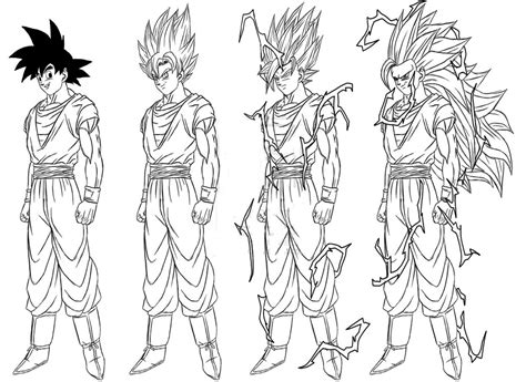 Pin By Karen Ho On Dragon Ball Z Pinterest Dragon Ball Kid Goku Coloring Pages