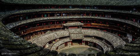 The rammed earth Tulou of the Hakka people, China