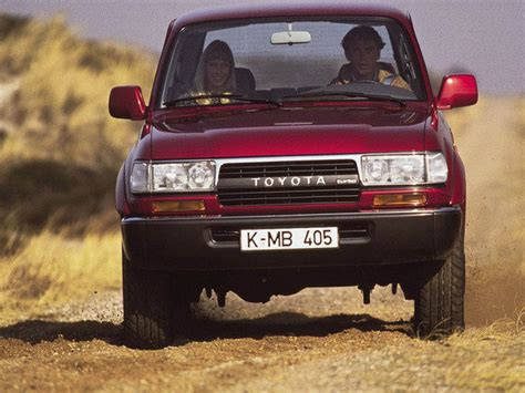 Toyota 80 Series Landcruiser Problems 1990 1997 Toyota Land Cruiser 80 Series Review Top Speed