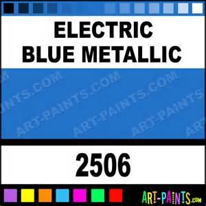 electric blue metallic acrylic enamel paints 2506