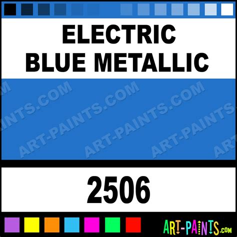 electric blue metallic acrylic enamel paints 2506 electric blue metallic paint electric