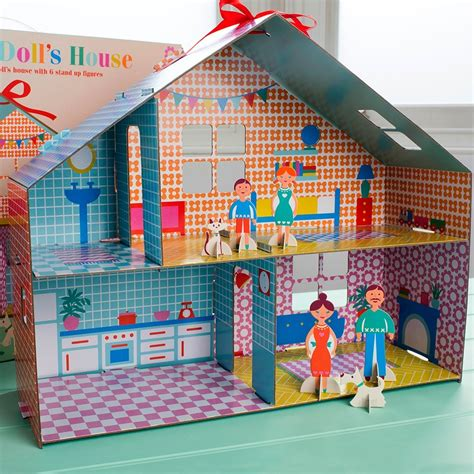 make dolls house make your own dolls house rex london at dotcomgiftshop