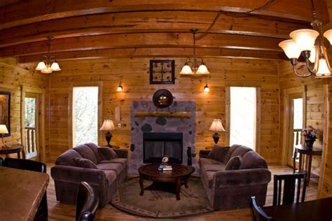 The Living Room Caign by Gatlinburg Cabins With Swimming Pool Indoor