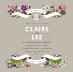 Free Wedding Invites Templates by Free Wedding Invitation Cards Templates Invitation Ideas