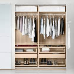 Wardrobe Storage Solutions Go To Pax Fitted Wardrobes