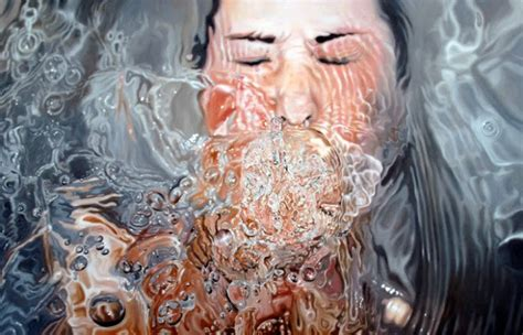 painting realistic hyper realistic paintings by sweden artist linnea