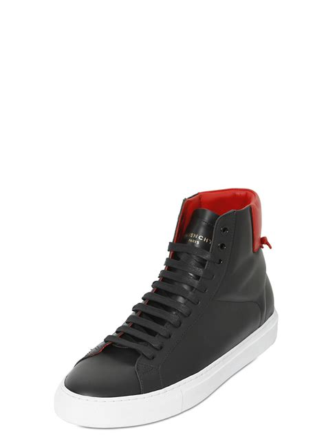 s givenchy sneakers givenchy knots leather high top sneakers in black for
