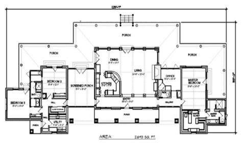 Texas House Plans by Contemporary Texas Ranch House Plans