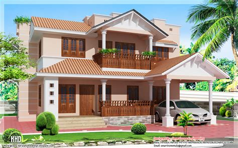 1900 sq feet kerala model sloping roof house house september 2012 kerala home design and floor plans