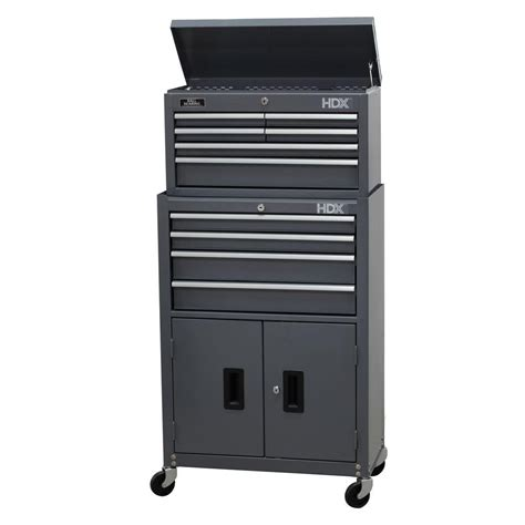 tool chest and rolling cabinet hdx 24 in 10 tool chest and rolling tool cabinet