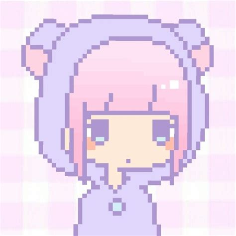 pixel art pattern tumblr anime girl with a knife tumblr