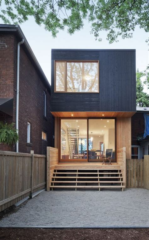 an affordable modern house in downtown toronto