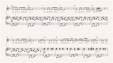 tutorial piano vivir mi vida trumpet vivir mi vida marc anthony sheet music