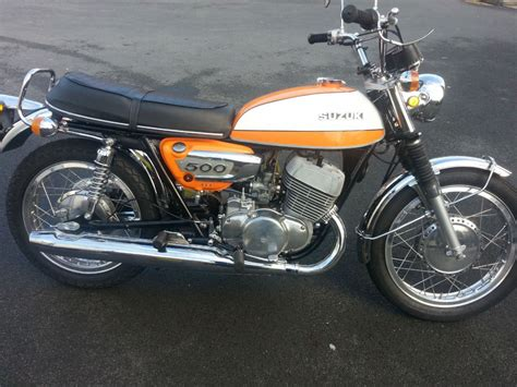 Suzuki T500 Parts by Suzuki T500 Titan 1973 Restored Classic Motorcycles At