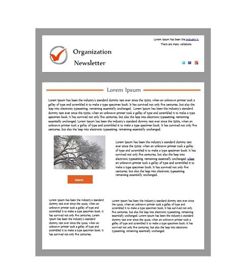 print newsletter templates 50 free newsletter templates for work school and classroom