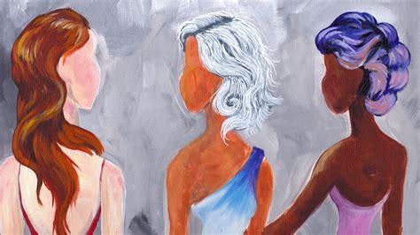 acrylic painting hair how to paint hair in acrylic hair grey hair