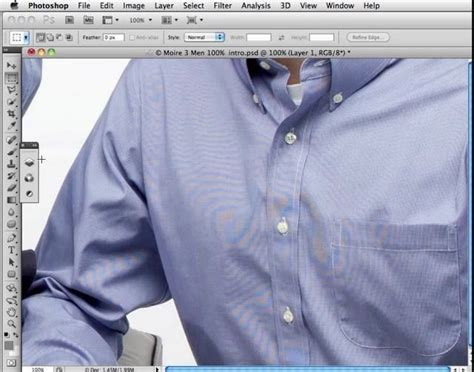 moire pattern removal video part 1 of 2 on how to remove camera sensor related moire
