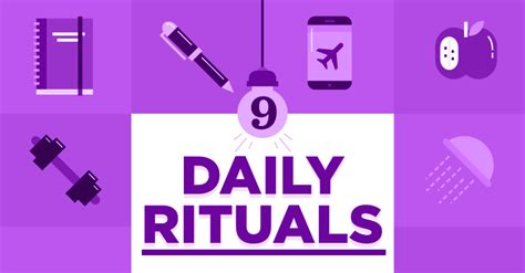 9 Daily Rituals You Need To Adopt Right Now