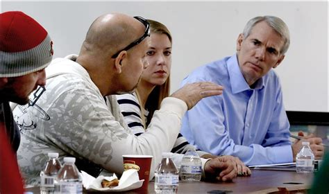 Zepf Center Detox by Sen Portman Hears Of Recovery From Addiction
