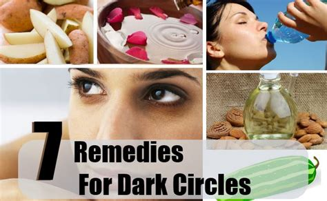 home remedies for circles treatments cure