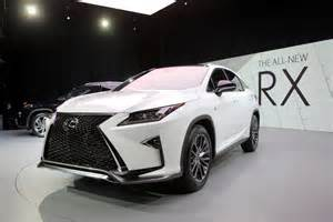 new cars arrival in india 2016 lexus rx look 2015 new york auto show