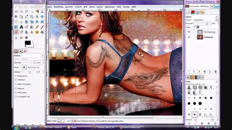 gimp tutorial deutsch anfänger gimp tutorial deutsch tattoo youtube