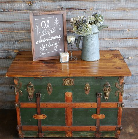 table into table html steamer trunk turned coffee table contributor post