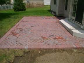 Brick Patio Designs Patios Land Design Landscaping Springfield Il