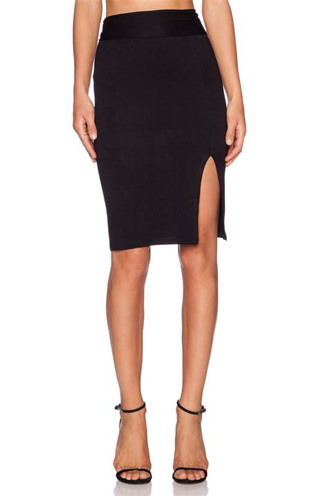 clayton pencil skirt in black lyst