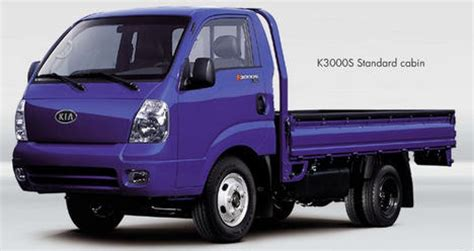 Kia Light Truck Kia K3000s 2 7d 80hp Technical Data Fuel Tank Fuel