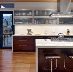 Modern Glass Kitchen Cabinets by A Mix Of Functionality And Style In The Form Of Glass