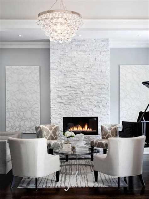white quartz stacked fireplace marvelous exterior