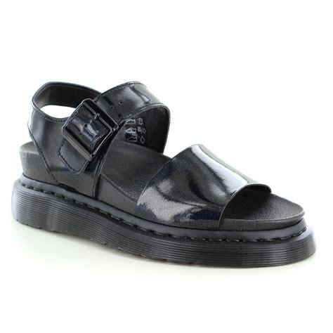 dr martens sandals dr martens romi womens leather sling back sandals petrol