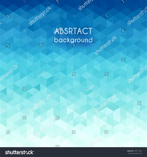 abstract water pattern abstract water triangular pattern eps10 stock vector
