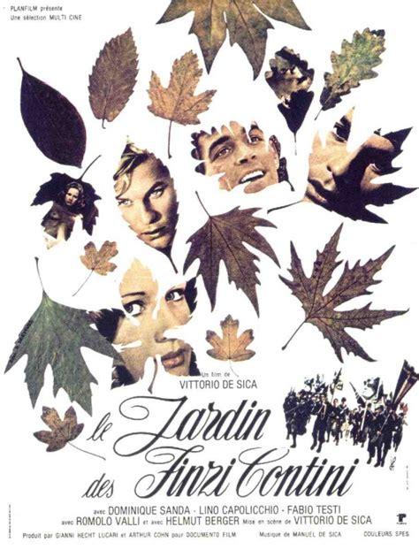 il giardino dei finzi contini analisi la locandina di il giardino dei finzi contini 122048