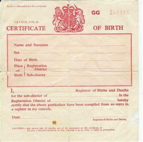 Birth Records Uk Birth Marriage Certificates Scam Corporations Make